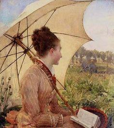 Гюстав Клод Этьенн Куртуа (французский художник, 1859-1923) Анн-Мари Вальтер