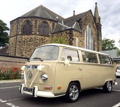 Looking for the VW retro, iconic style for your wedding.... www.vwdeluxeweddings.co.uk Chauffeur driven VW Campervan for weddings in Northumberland, Tyne and Wear, and Durham.