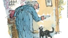 Tale of Kitty in Boots, the lost manuscript of Beatrix Potter, illustrated by Quentin Blake. To be released on Sept. 1, 2016.