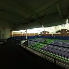 360 from above the Tennis Cours in Nordstrom Tennis Center