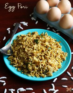 Egg pori recipe | Puffed rice with egg recipe Egg Recipes For Lunch, Quick Egg Recipes, Egg Recipes Indian, Fried Egg Recipes, Hard Boiled Egg Recipes, Healthy Egg Recipes, Spicy Recipes, One Egg Recipe, Puffed Rice