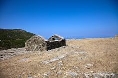 Derelict Shack High on a Hill #Photography #Travelphotography #Thassos #Landscape # Derelict