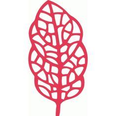 Silhouette Design Store - View Design #90848: leaf filigree