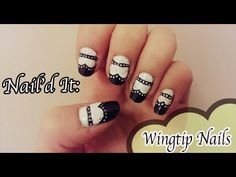 Wingtip Nail Art Tutorial (Nail'd It!)