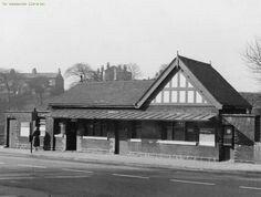 Blackley tram office, Rochdale Road, Manchester