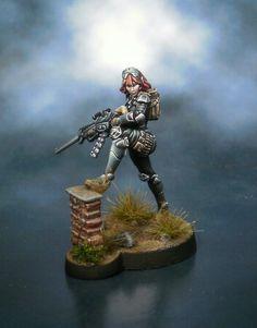 Authorized bounty hunter by Segio Luque (Minotauro Studio)