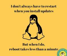 Windows vs Linux update