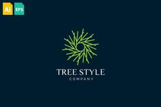 Tree Style Logo by Maddesign Store on @creativemarket