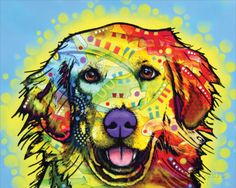 Golden Retriever Prints by Dean Russo at AllPosters.com
