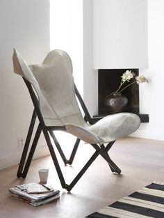 Comfort - vtwonen Butterfly Chair, Interior Decorating, Inspire, Pure Products, Living Room, Decoration, House, Inspiration, Furniture