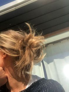 Messy Hairstyles, Pretty Hairstyles, Female Hairstyles, My Hairstyle, Hairstyles 2018, Everyday Hairstyles, Headband Hairstyles, Summer Hairstyles, Hair Inspo