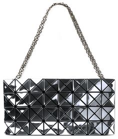 CLUTCH BAO BAO ISSEY MIYAKE The surface of Platinum series bag acts like a  mirror by reflecting light. 7f1c487f5f