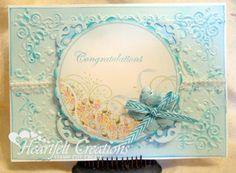 Heartfelt Creations | Congratulations In Blue