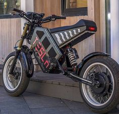 """7caeaeebb Ev⚡Nerds on Instagram  """"Tesla Ebike from Russia with ♥ DoubleTap if u like  it Features   Our  Cromotor inside ➖➖➖➖➖➖➖➖➖➖➖ Only the fatest ..."""