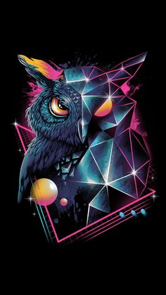 owl art \ owl art ` owl artwork ` owl art projects for kids ` owl art drawing ` owl art painting ` owl art for kids ` owl art dark ` owl art whimsical Owl Wallpaper Iphone, Tier Wallpaper, Dark Wallpaper, Animal Wallpaper, Wallpaper Keren, Iphone Wallpapers, Hipster Wallpaper, Trendy Wallpaper, Poster S