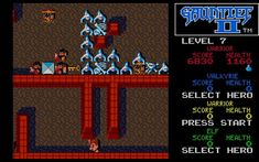 Download Gauntlet 2 action for DOS (1989) - Abandonware DOS Video Games, Gaming, Action, Hero, Videogames, Videogames, Group Action, Video Game, Game