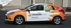 Car Wraps Phoenix   Streamline Solar Car Wrap