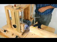 Slot mortising machine - YouTube