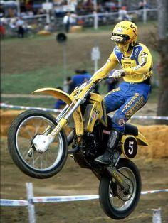 Mx Racing, Dirt Bike Racing, Enduro Vintage, Vintage Motocross, Old Scool, Mx Bikes, Motocross Riders, Off Road Bikes, Vintage Helmet