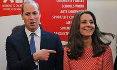 Prince William and Kate Middleton: All about their youth charity day in London - HELLO! US