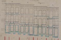 Bruxelles Extension Sud - Rue du Beau Site 32, 34, 36, 38, 40, 42