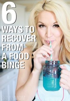 Detox Tips: Ate too much? Here are some tips on how to recover from a food binge. #workout #fitness #health