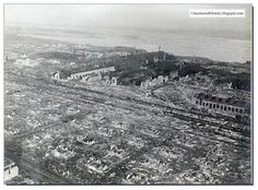 This is what a once bustling city was reduced to by the Battle of Stalingrad.