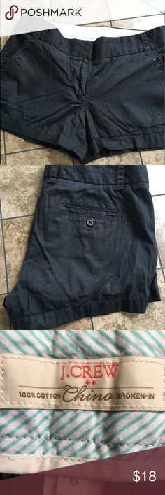 """4248420c5d71a J Crew Shorts •Black Shorts •3"""" inseam •No stains or tears J. Crew Shorts"""