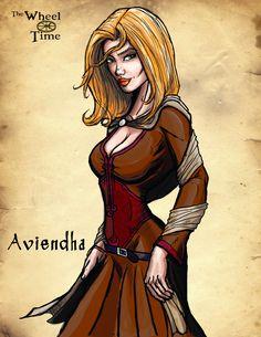The Wheel of Time: Aviendha by darlinginc.deviantart.com