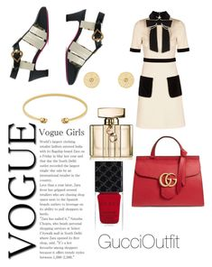 """""""GucciOutfit"""" by ioanacm ❤ liked on Polyvore featuring Gucci"""
