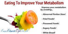 A list of simple dietary changes you can make to increase your metabolism.