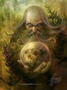 #old #wizard #fantasy #art #inspiration