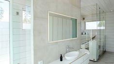 vaalea sauna - Google-haku Spa, Bathroom Lighting, Mirror, Furniture, Home Decor, Google, Homemade Home Decor, Bathroom Vanity Lighting, Mirrors