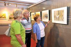 Eröffnung unserer Ausstellung im Atelier Natur des Rostocker Zoos   Bilder, Aquarelle vom Meer & mehr - von Frank Koebsch