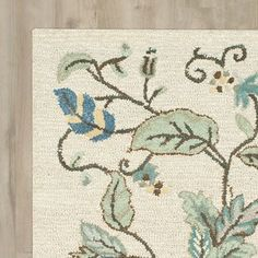 New Autumn Woods Hand-Tufted Colonial Blue Area Rug by Martha Stewart Rugs Rugs Home Decor Furniture. Fashion is a popular style Beige Area Rugs, Tufted, Rugs, Rug Pad, Area Rugs, Rug Shopping, Rugs Online, Blue Area, Hand Tufted Rugs