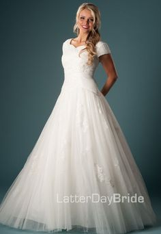 Latter-Day Bride. GREAT website with gorgeous dresses!
