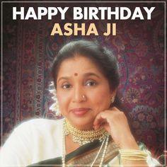 In aankhon ki masti ke mastaane hazaaron hain…… Wishing Asha Ji a very Happy Birthday!!! Celebrate the singing diva's Birthday with karaoke of her hit songs available at #HKS.
