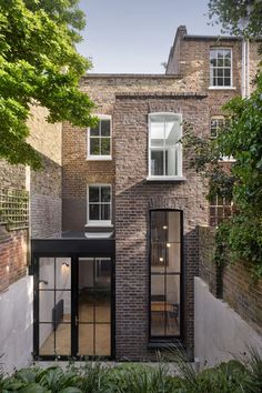 Tower House is a Grade II listed house in Barnsbury, Islington that has been renovated and extended by Dominic McKenzie Architects. The original house was.