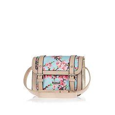 Girls blue floral print satchel bag £15 #riverisland #RIkidswear