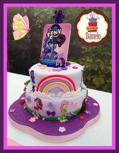 My little pony equedtria girl cake