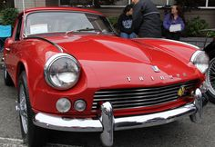 My first car was a 1968 Triumph GT-6. Based on the Spitfire, it had a hard top and a 6 cylinder inline motor with dual carbs. Mine looked a lot like this one, but not as nice.