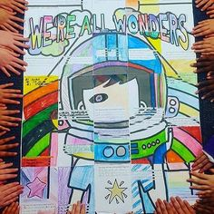 @studyallknight is SO ready for #wonder the movie to come out! She uses these awesome interactive posters to encourage #kindness and it WORKS!!! Check out her IG feed for more fun and bright resources. #teachersofig #teachersofinstagram #teachersfollowteachers #iteachtoo #middleschoolenglish #highschoolenglish #iteachela #iteachenglish #iteachtoo #teacher #teachkindness #iteach456 #iteachmiddleschool #middleschoolteacher