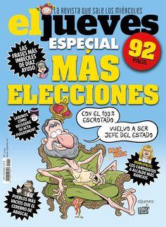 Portada Revista El Jueves nº. 2191 Humor Grafico, Comic Books, Digital, Cover, Blog, Facebook, Products, Money Laundering, Comics
