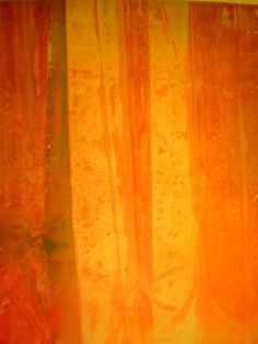 Color Field Painter and Lyrical Abstractionist artist Sam Gilliam (American: 1933) - Pink Flutter, 1969