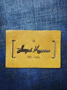 Leather Label, Hang Tags, Label Design, Patches, Card Holder, Branding, Buttons, Denim, Shirts
