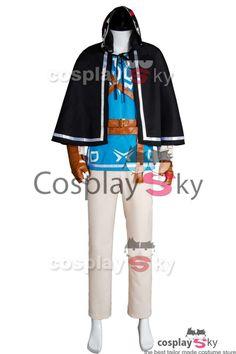 The Legend of Zelda Breath of the Wild Link Cosplay Costume #cosplaysky_fr #cosplay