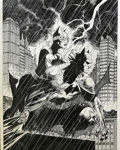 Comic Book Heroes, Comic Books, Jim Lee Batman, Jim Lee Art, Batman And Catwoman, Jack Kirby, Action Poses, American Comics, Wolverine