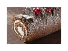 This year is my year. I'm finally going to attempt a Yule Log cake. No recipe for this pin, but the cake looks lovely.