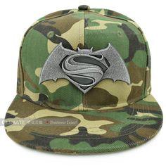 DC COMICS-SUPERMAN Contrast Snapback Kids Cap-Nero