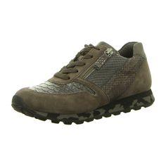 NEU: Gabor Sneaker Halbschuhe York - 56.368.19 - steel k.(S.cf) -